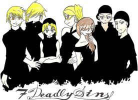 Seven Deadly Sins by Doridachi