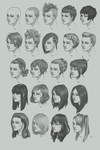 Hairstyle study by ArtOfhKm