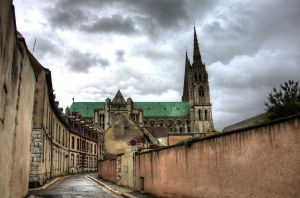 Chartres Cathedral by AngelsOdyssey