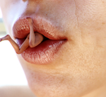 Between Her Lips 01 by Flagg3D