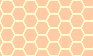 Honeycomb-218 (Peaches n' Cream) by Trapped-Echoes