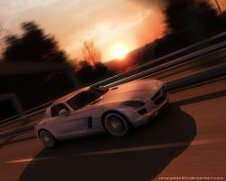 Mercedes Benz SLS by Renegade64