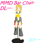 MMD Bar Chairs DL by IcyBreeze8