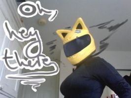Oh look I'm Celty. by Riocakes
