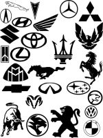 Car Emblems by mrwicked