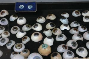 Wax Eye Balls by Della-Stock
