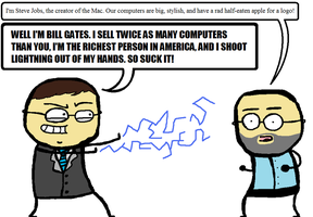Bill gates is awesome by Misterstix66