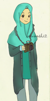 Muslimah photographer by ieramoshi2