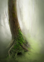Tree concept painting by Slath
