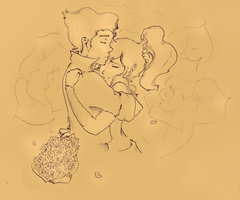 Borra: Hold me tight- Sepia by Pongii