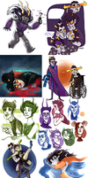 Homestuck dump 6 by SIIINS