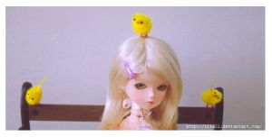 + crazy yellow chicks + by ilia21