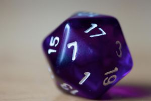 Dice 01 Stock by lokinststock