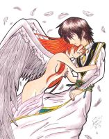 Lelouch and Shirley by DarkAngel0267