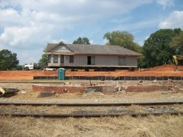 Madison Depot (New Location) by CNW8646