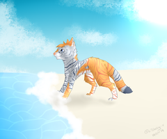 AT || Sunny day at the beach by x-Blacky-x