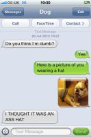 Dog text-1 by Vincenttheawesome