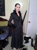 Victorian mourning coat by katerlin