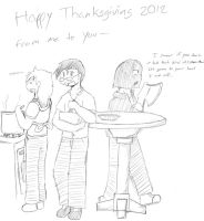 Happy Thanksgiving~ by PHM-Productions