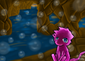 Mew contest entry .:Enter:. by Fluffy-Snow