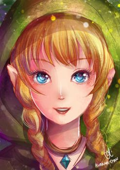 -- Legend of Zelda: Linkle -- by Kurama-chan