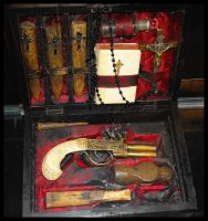 Vampire Hunter Kit Stock by SalemCatStock