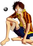 Sunset Luffy by Folha-S