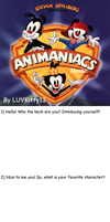 Animaniacs Meme by LUVKitty13