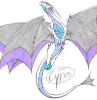Cygnus the Dragon by BubbleLum