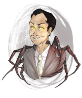 Moriarty isn't a man at all... by Moriartea-time