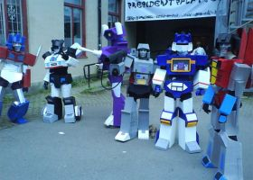 Decepticon and Autobot cosplay by sedra60