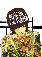 Oliver Sykes by Fallen-KZ