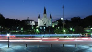 Saint Louis Cathedral by blindtetra