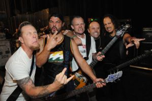 Metallica and Flea from RHCP by Metallichik