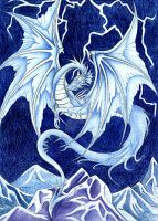 Icedragon by oO-VampArt-Oo