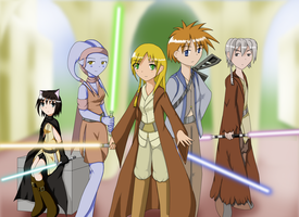 Young Jedi Knights by kit-y