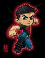 Young Justice- Superboy by lordmesa