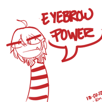 eyebrooooow by Madved