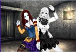 Sally and Jacket Gender Bender by DuoSmexyMaxwell