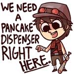 Pancake Dispenser. by FancyPancakes