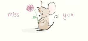 Miss You Mouse by Spambi