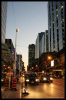 Downtown Toronto by hyper-text