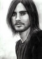 Jared Leto finished by MartyIsi
