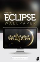 Eclipse Text Style Wallpaper by Romenig