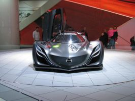 Second Mazda Super-Front View- by IchibanWolf