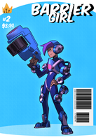 Gotcha Force Tribute: Barrier Girl by KingKaijuice