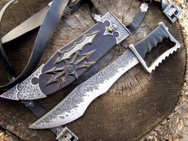 Chaos by GageCustomKnives