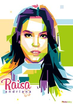 Raisa in WPAP by IndraRisky