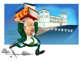 caricatura by Mecho