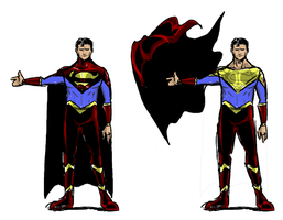 Superman Redesign Take 2 by DetectiveX